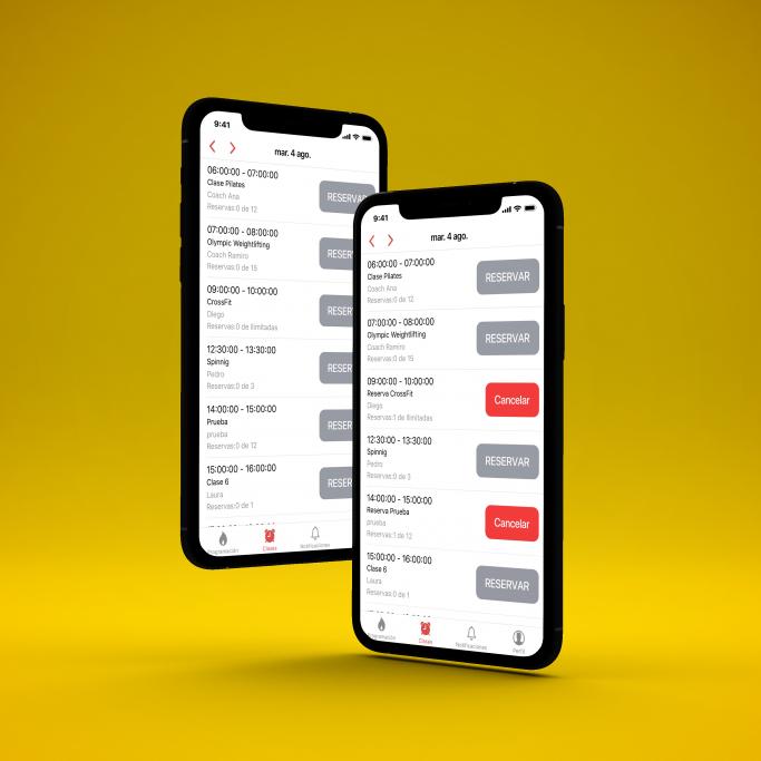 limpio reservas app